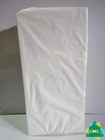 Салфетка 30х30 2-х слойная белая сложения  1/8 (сплошное тиснение) 200 шт. (4 пач/ящ) КП