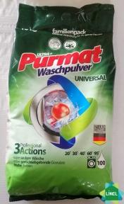 Порошок стиральный PURMAT universal 10 кг.