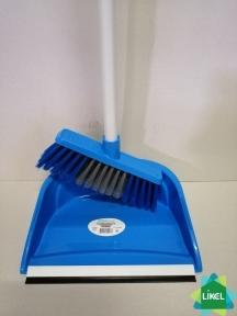 Комплект для уборки Совок+Щетка синий