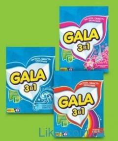 GALA Порошок стиральный автомат 400г. в асортименте