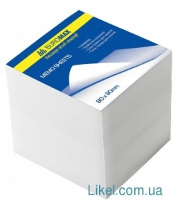 Бумага для заметок 80*80 мм Economix, 500 лис. белый