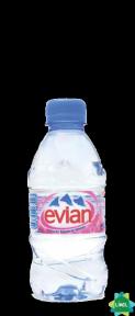 Минеральная вода EVIAN 0,33 л пластик без газа