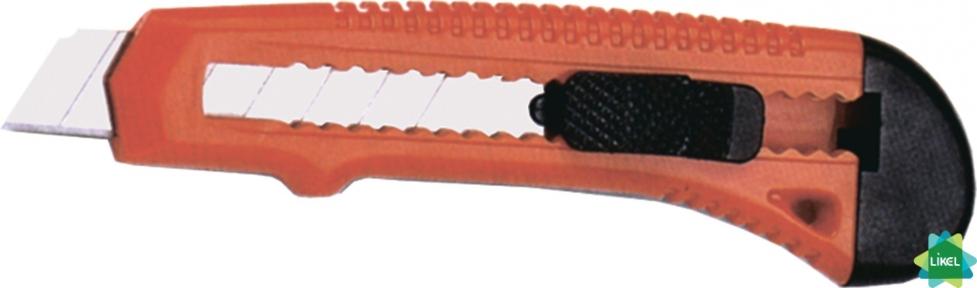 Нож канцелярский 18 мм  Economix, пласт. корпус