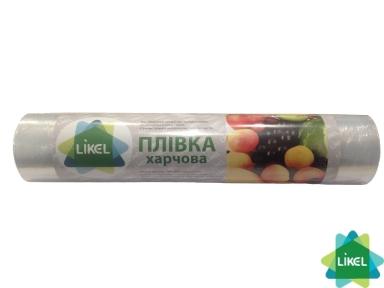 Пленка упаковочная Likel PЕ 300м *30см 8 мкм (белая) 0,6кг