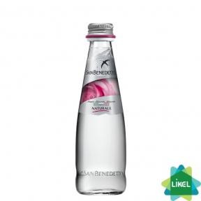 Минеральная вода San Benedetto 0,25 л стекло б/газ