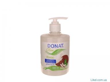 Жидкое мыло  0.5 л. DONAT