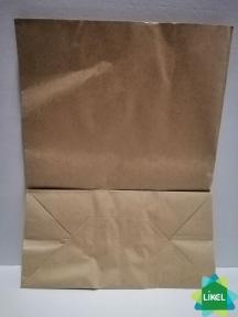 Пакет паперовий коричневий 260*130*350