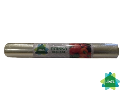 Пленка упаковочная Likel ПВХ 300м *45см 9 мкм (желтая) 0,75кг