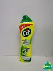 Засіб д/кухні CIF крем Лимон 500 мл (16 шт/ящ)