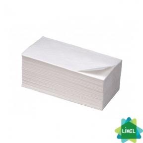 Полотенца бумажные БИМА белые V-сложения 160 листов