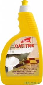 Средство для чистки сантехники и кафеля Сантик запаска 750 мл