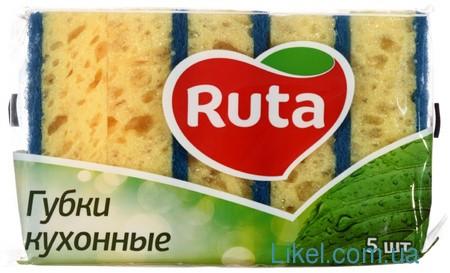 Губки кухонные Ruta большие 5шт