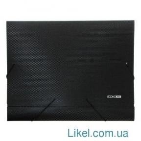 Папка-бокс пластиковая А4 на резинках Economix, 20 мм, фактурна