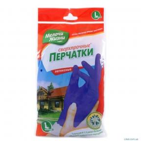 Перчатки резиновые размер L МЖ