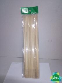 Палички д/шашлику 20 см 100 шт. бамбук Рокас