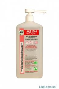 АХД 2000 экспресс, 1л (дезинфекция рук, медоборудования)