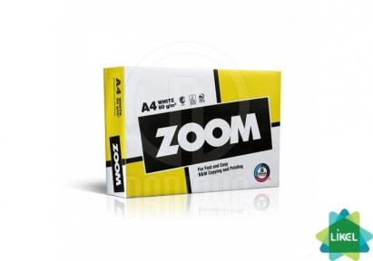 Бумага офисная ZOOM А4 80г /м2 500л класс C