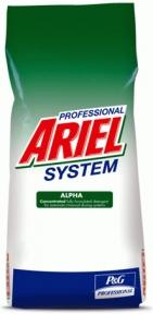 Порошок стиральный  ARIEL Professional Alpha автомат 15кг