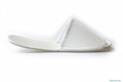 Тапочки отельные белые