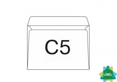 Конверт МК формат C5 100 штук плотность 75г/м2