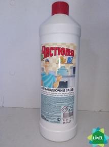 Чистюня средство для чистки плит  1л.