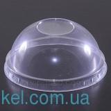 Крышка пластиковая д/стакана Купол 200 мл. без отверстия (50 шт)