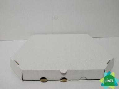 Коробка для пиццы d=30см 300х30х30 белая