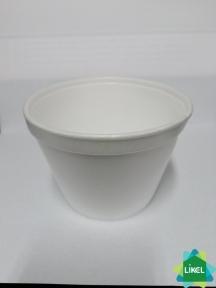 Ємність супова біла 450 мл  (25 шт.) Eupack