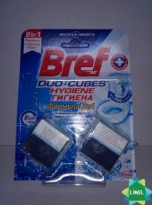 Чистящие кубики для унитаза BREF Актив