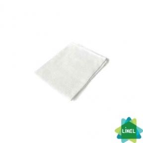 Полотенце вафельное белое Укртекс 45х75см 125г/м
