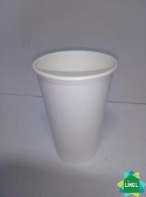 Стакан 500 мл бумажный белый (50 шт.)