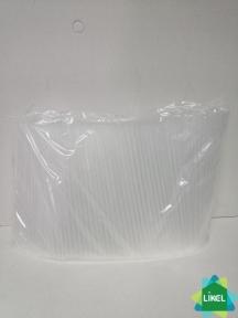 Трубочки Мартинки (d=4,8мм) прямые прозрачные 12,5 см 200 шт.