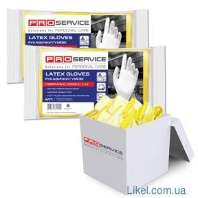 Перчатки резиновые размер 6 (S) PRO service