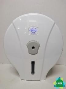 Диспенсер туалетного паперу, Джамбо, білий