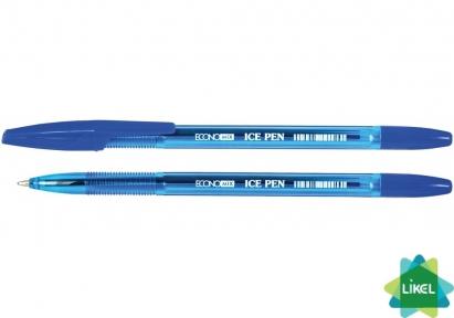 Ручка шариковая Economix ICE PEN синяя (50 шт.уп.)