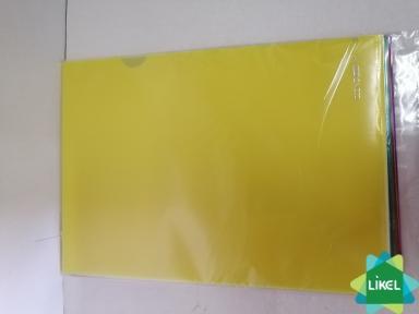 Папка-куточок А4 Economix  Light, 120 мкм, фактура