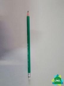 Карандаш деревянный Economix ECO SOFT HB с резинкой