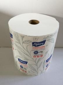 Рушник паперовий Джамбо Papero цел. 150 м. ( втулка 3,8мм)  (RL027)