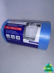 Мусорные пакеты  PRO service синие 35л/100шт