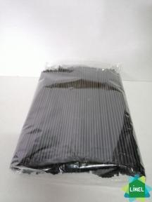 Трубочки Мохито (3,0 мм) черные 21 см (500 шт.)