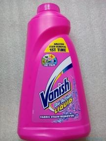 Пятновыводитель жидкий для цветного белья Vanish 1л