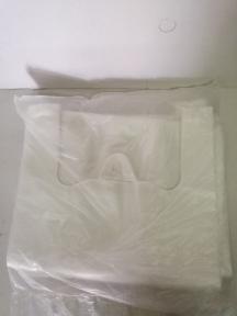 Пакет-майка 28*48 см 100 шт. белый