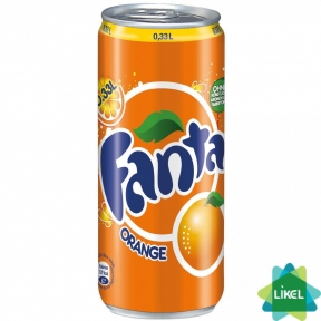 Fanta Апельсин 0,33 ж/б