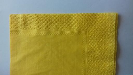 Салфетка 33х33 2-х слойная грейпфрут сложения 1/4 (100 шт.) Papero (10 пач/ящ) (NL515)
