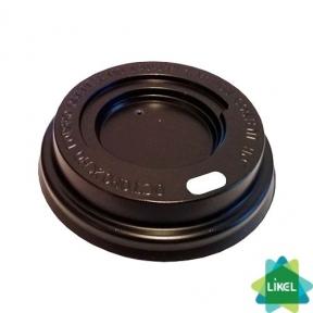 Крышка пластиковая для гофростакана 350 мл коричневый №90 50шт/уп