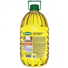 Универсальная жидкость для мытья поверхностей HELPER Лимон 5л