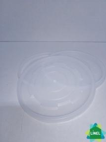 Кришка д/ємності супової білої 350/450 мл (50 шт.) Eupack