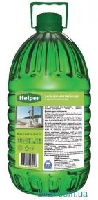 Жидкость для мытья посуды HELPER Professional 5л яблоко