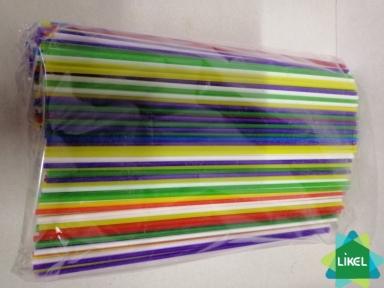 Трубочки  Мохито (3,0 мм) цветные 25 см (500 шт)