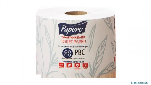 Туалетная бумага  на гильзе 12,5 м. Papero 48 шт/пак (ТР028)